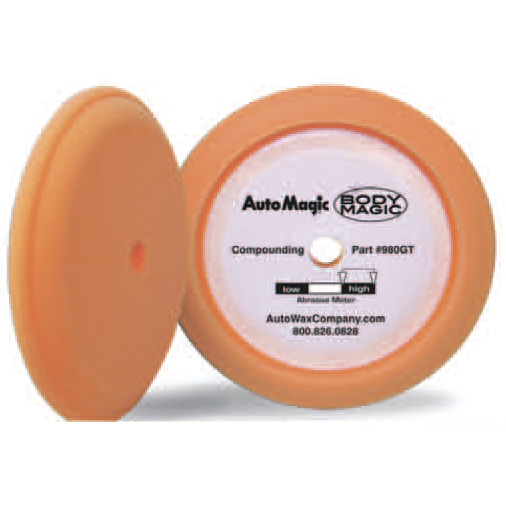 Orange Euro Foam Compounding Pad