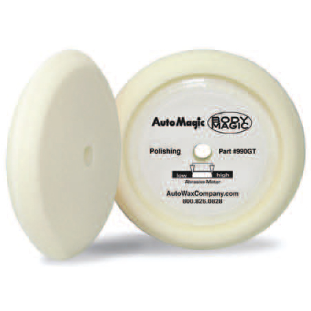 White Euro Foam Polishing Pad